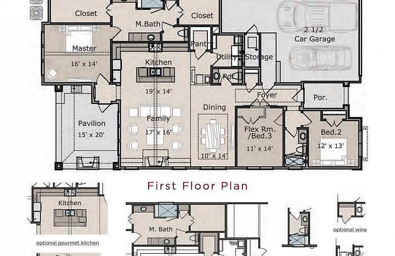 Lantana Floor Plan Caldwell Homes
