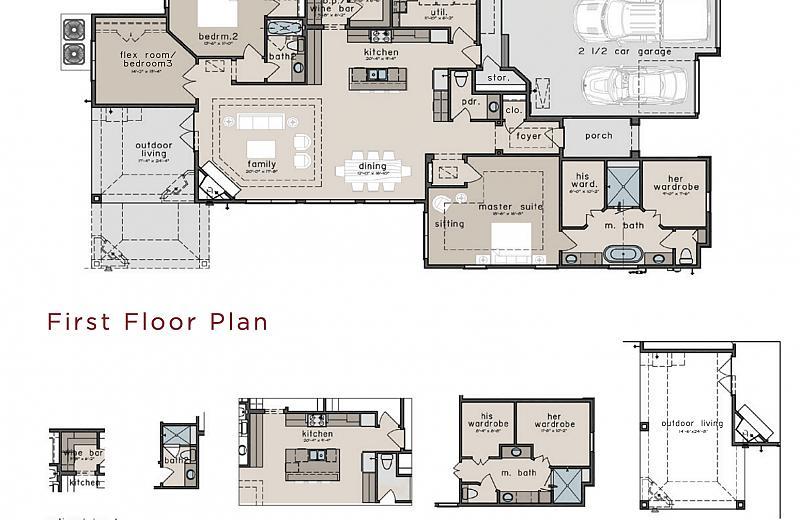 Calico Floor Plan Caldwell Homes